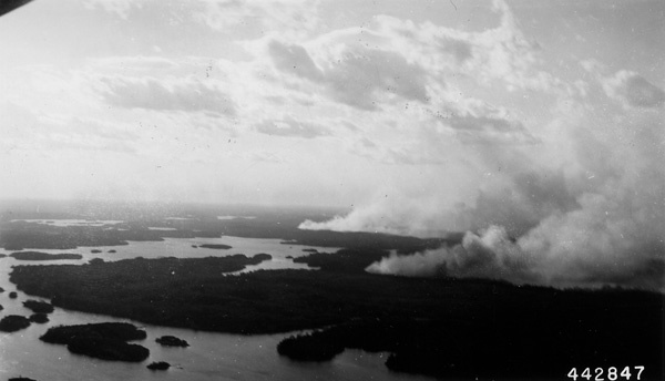 Photograph of Canadian Fires