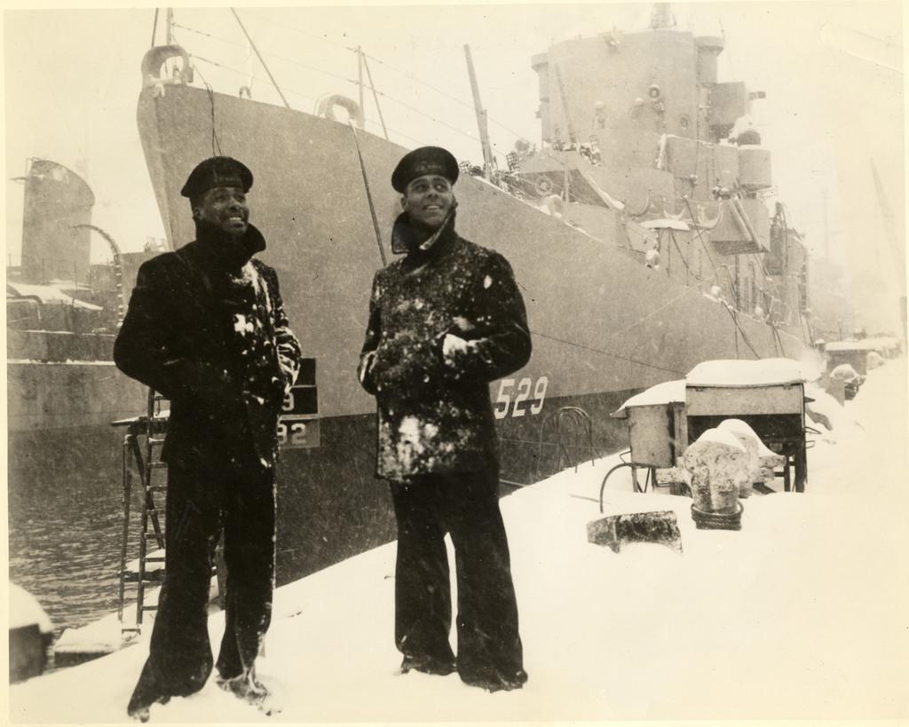 USS Mason at Boston Navy Yard