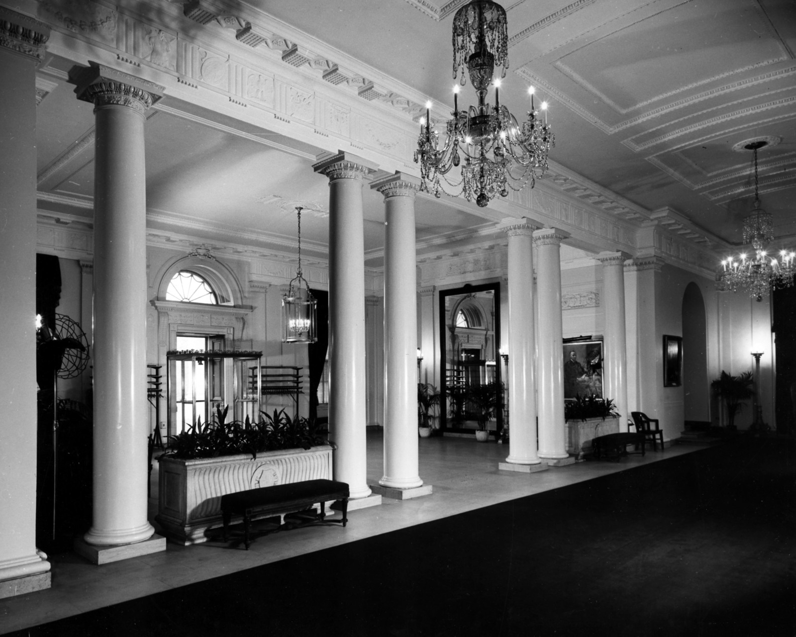 Entrance Hall of the White House