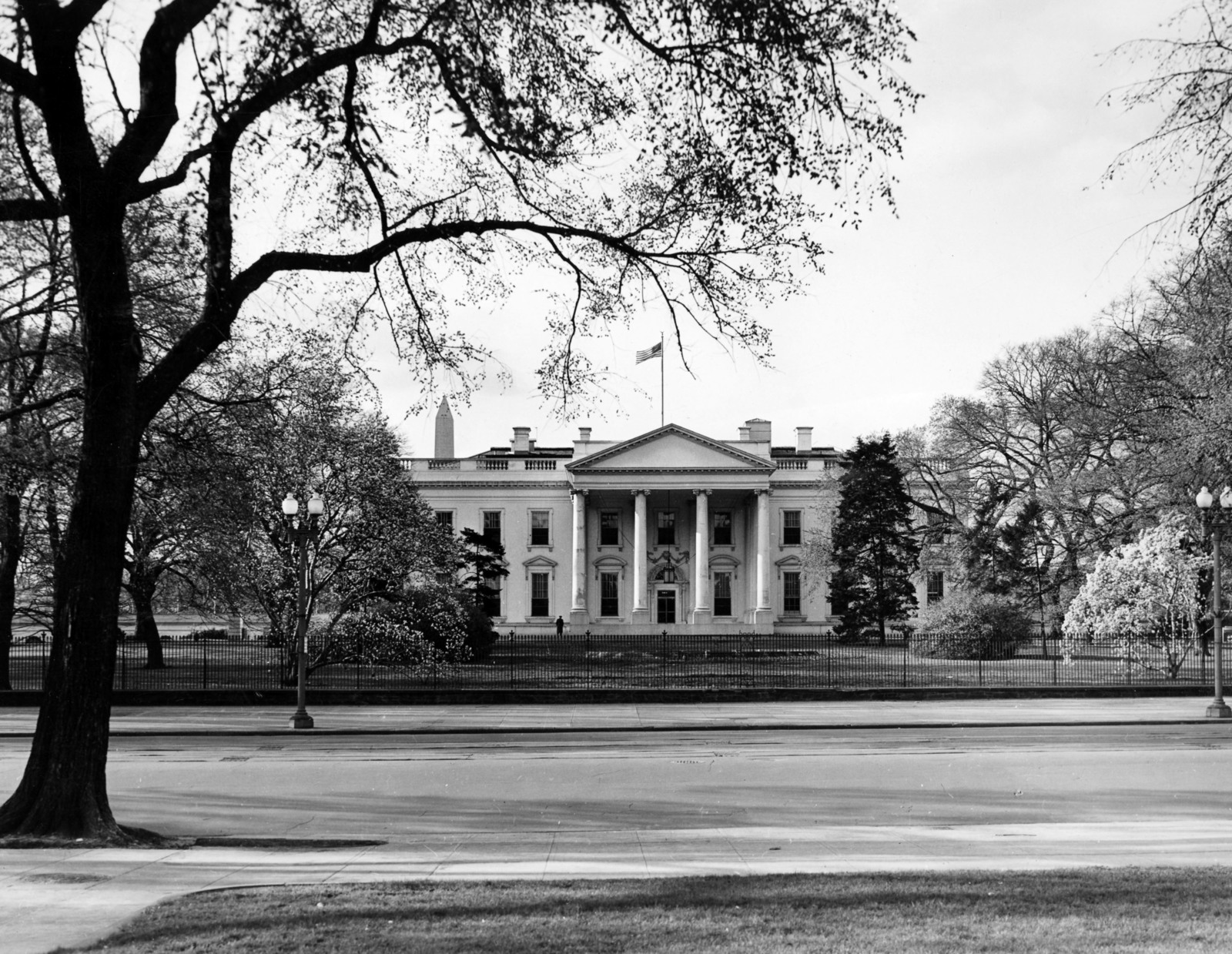 White House Exterior, North Portico