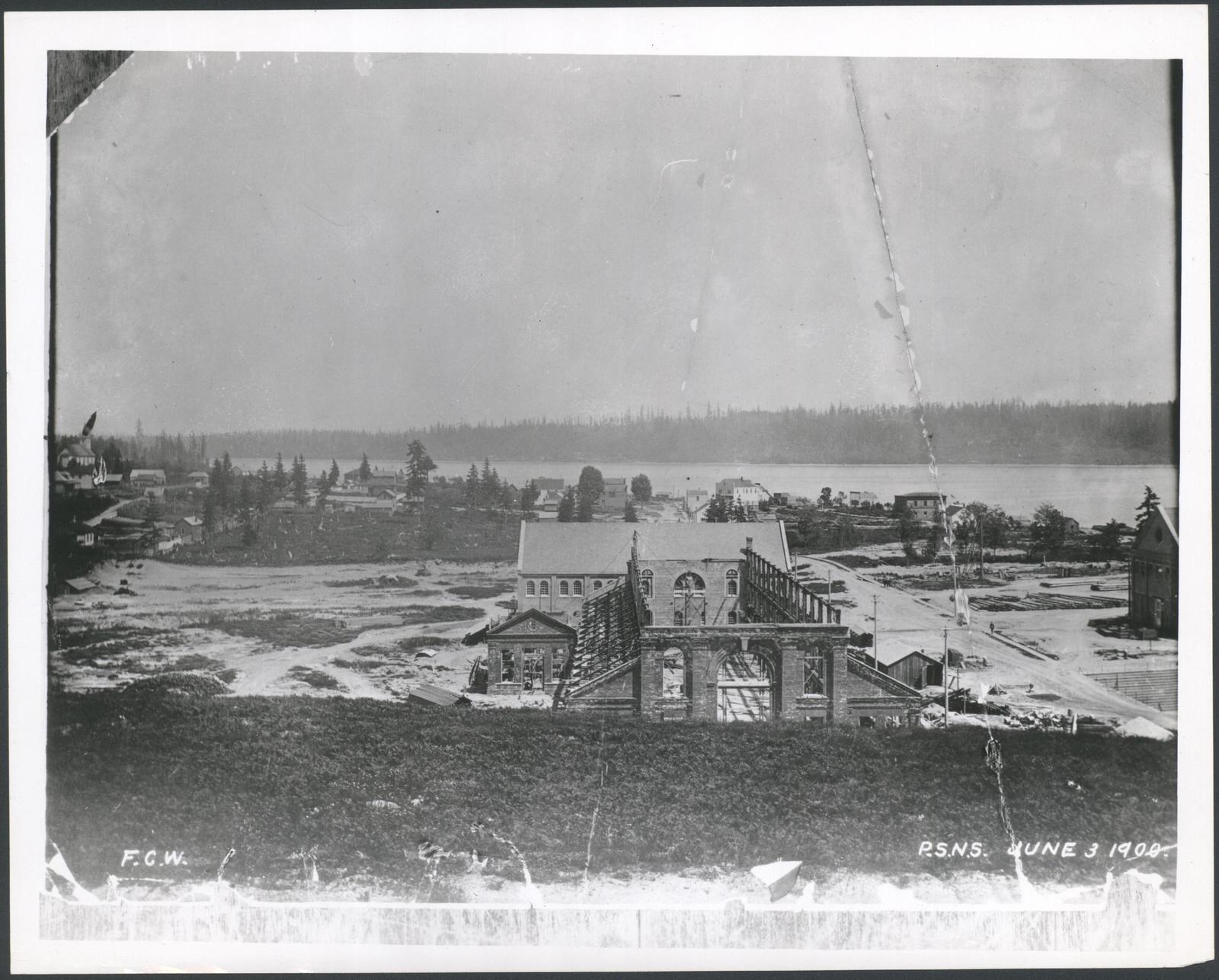 View of Puget Sound Navy Yard