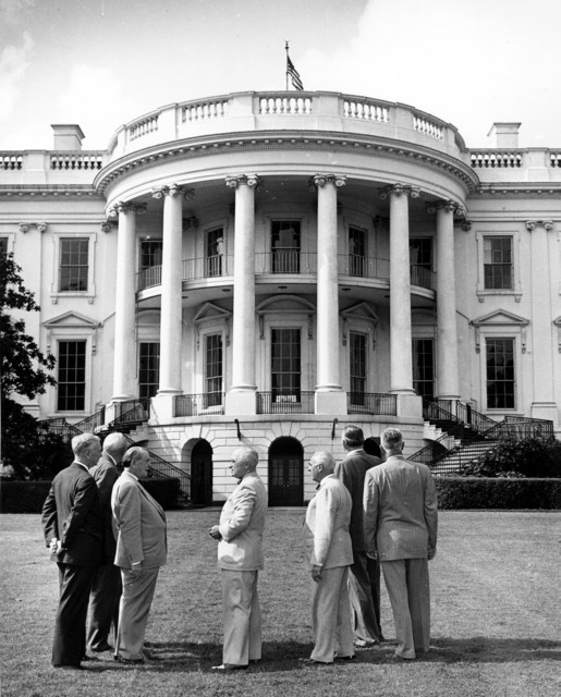President Harry S. Truman and the Committee for the Renovation of the White House