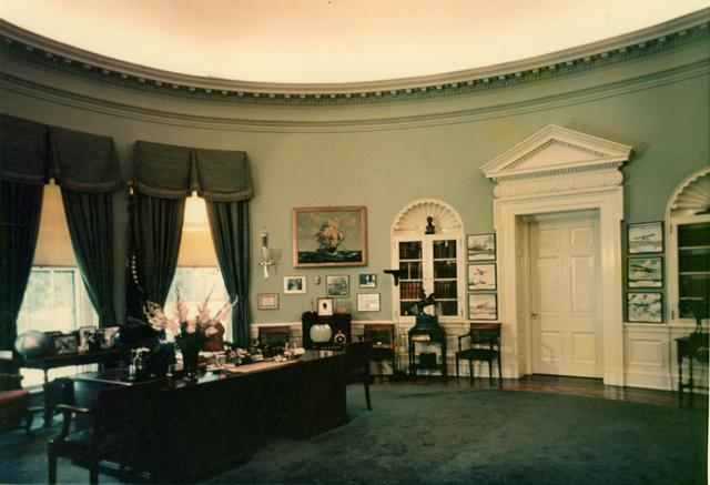 President Harry S. Truman's Oval Office