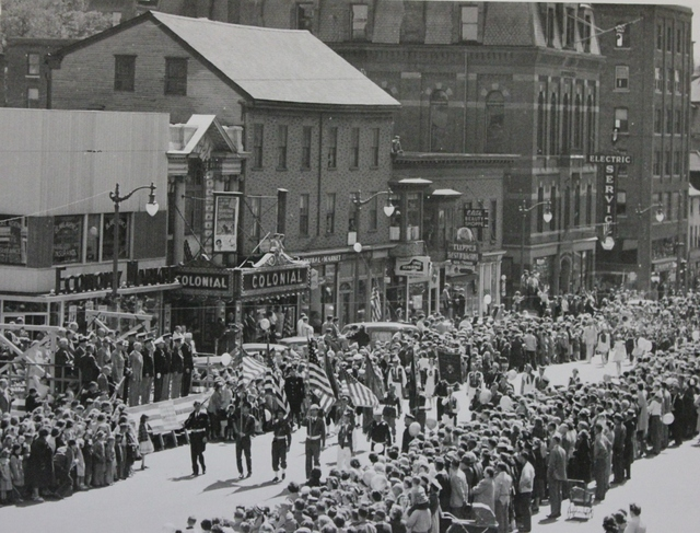 A View of the Armed Forces Day Parade in Portsmouth, New Hampshire