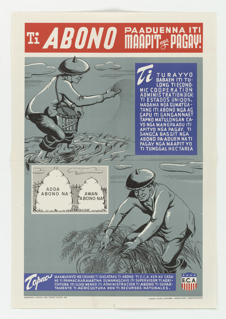 ECA - Fertilizer Poster