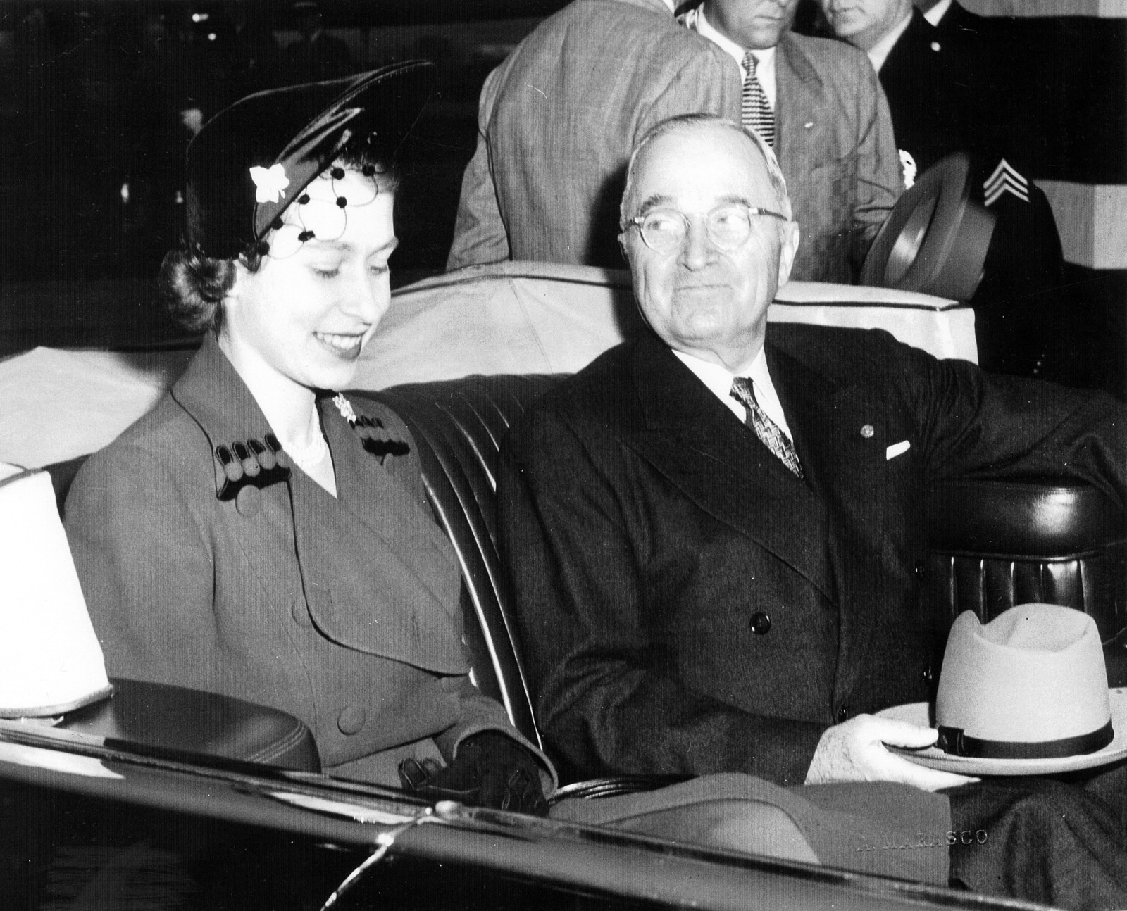 Image result for photos of truman and princess elizabeth