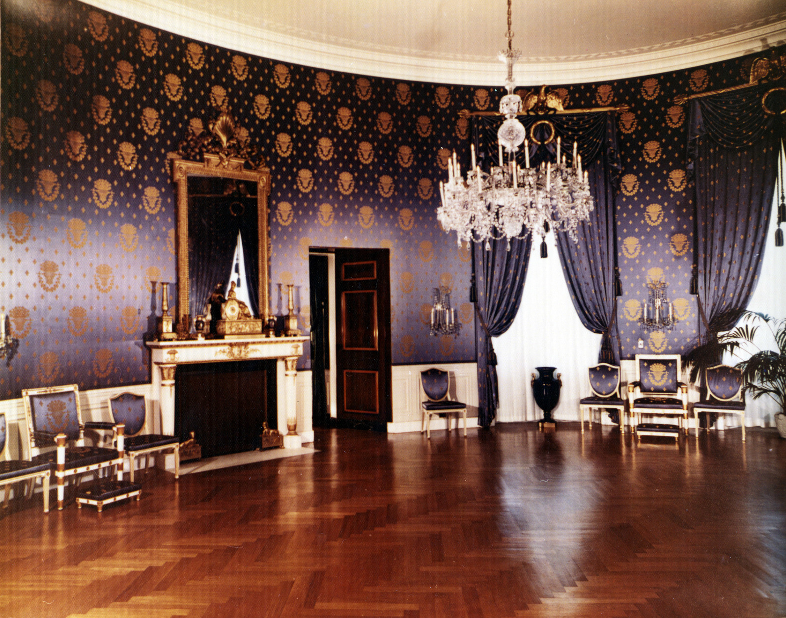 Blue Room at the White House, Post-Renovation