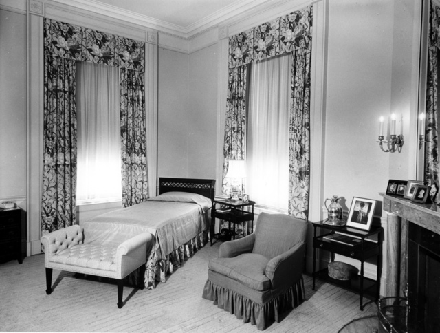 View of Bess Wallace Truman's Bedroom at the White House