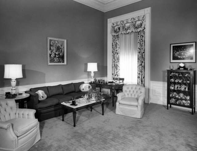 View of Family Quarters at the White House