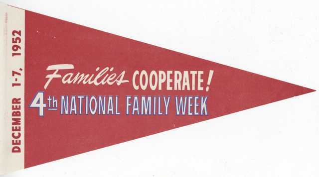 Families Coop. 4th National Family Week