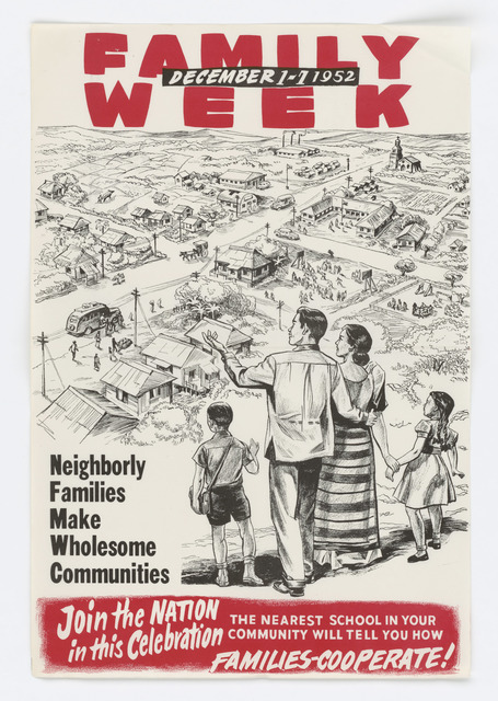 Family Week (Dec. 1-7, 1952)