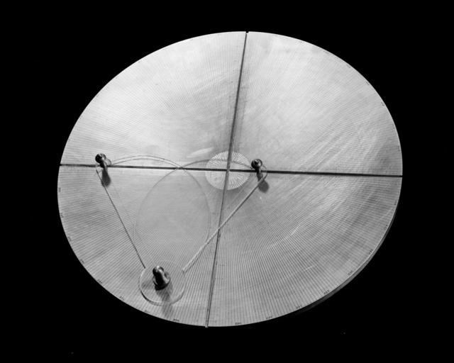 "184-inch cyclotron. Transmission live calculator. Photo taken 6/30/1953. 184""-1132"