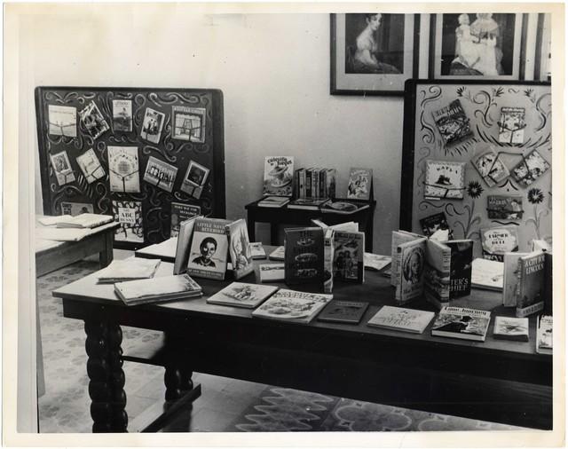 Children's Book Exhibit, Instituto Cultural Dominico, Americano Cuidad Trujillo, Dominican Republic