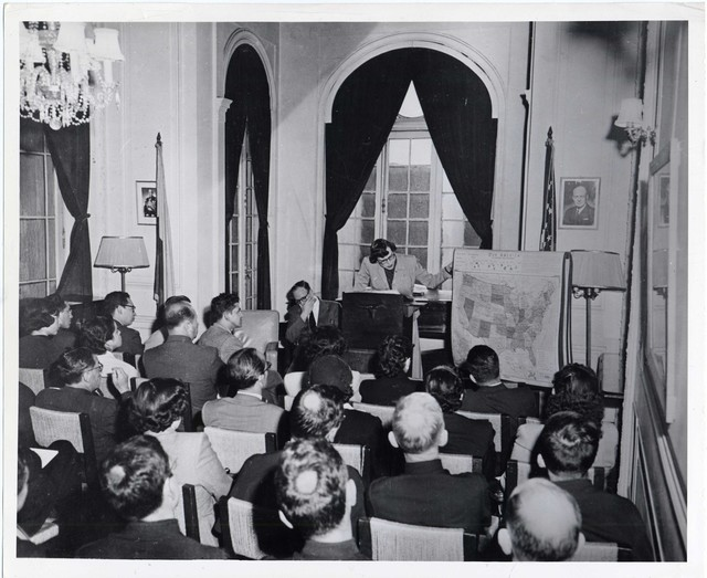 U.S. History Class, Bogota, Colombia