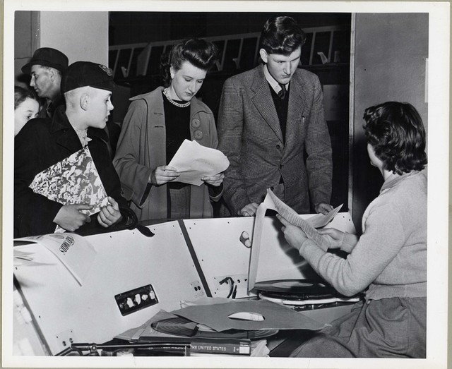 USIS Music Desk, London