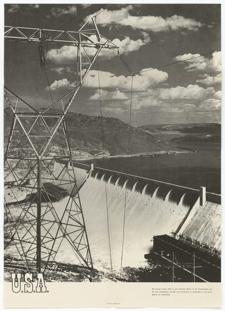 """Poster """"Grand Coulee Dam"""""""