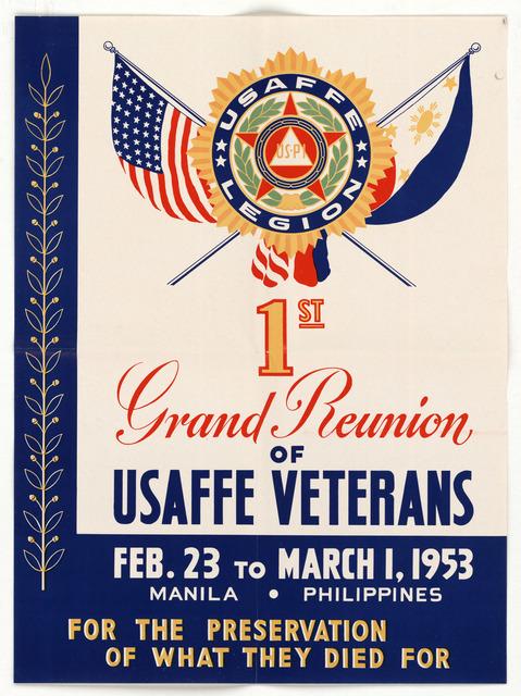 1st Grand Reunion of USAFFE Veterans