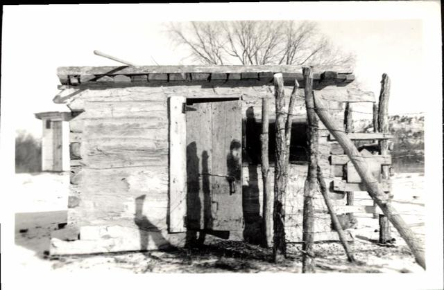 Farming (Home-Made Facilities of Joe Black Elk)