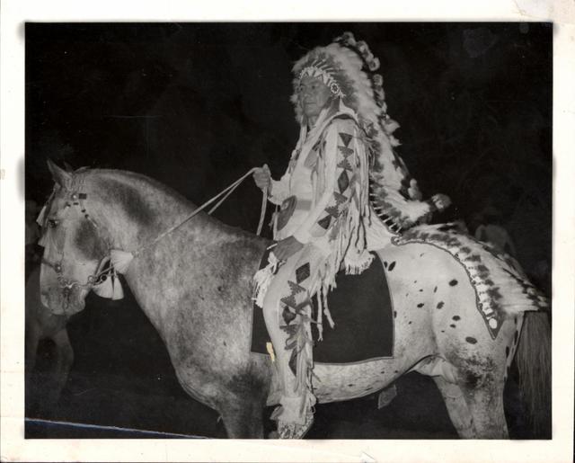 Joe Garvey as Grand Marshall of the Diamond Spur Rodeo