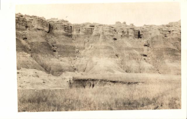 "Landscape (""Badlands, Potato Creek"")"
