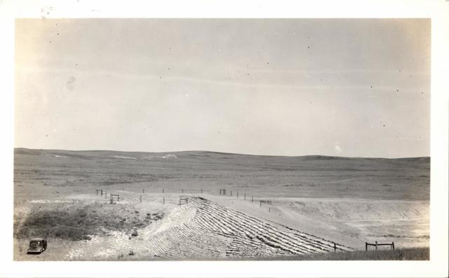 "Landscape (Dam No. 236 ""Cedar Bluff"")"