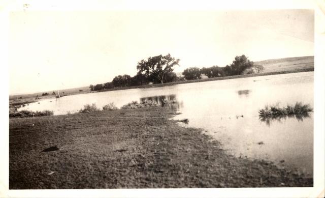 Landscape (Dam No. 28 - Flood Watering near Slim Buttes)