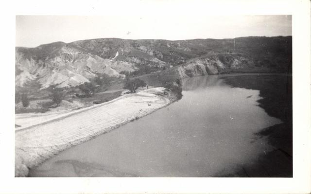 "Landscape (Unidentified {Oglala} Reservoir ""No Water"")"