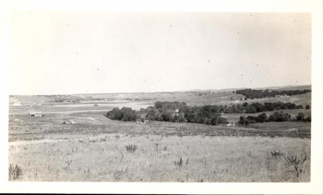 Landscape (Wounded Knee Dam Lake)