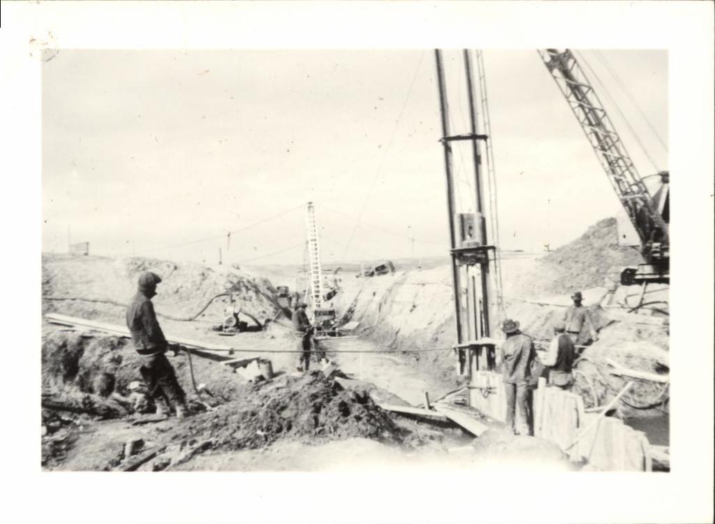Oglala Dam (Boom of Shovel)
