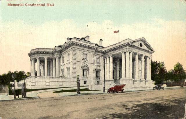 Postcard Memorial of Continental Hall