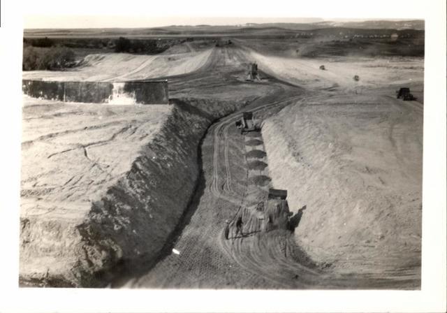 Project (Oglala Dam, Cut-Off Track)