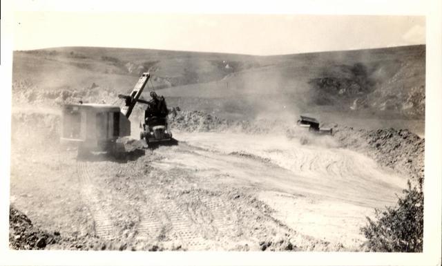 Project (Oglala Dam Excavating Spillway)