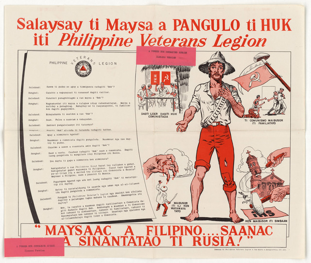 Statement of a Former Hut Commander of the Philippine Veterans Legion