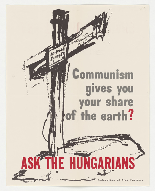 Communism Gives You Your Share of the Earth ( c )