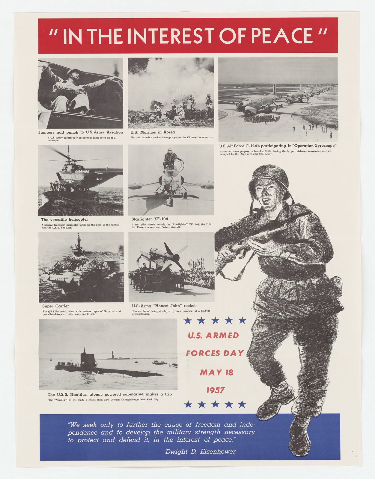 U.S. Armed Forces Day Poster