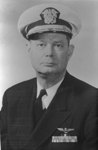 CAPT. Paul D. Buie, USN (covered) CO, USS RANGER (CV-61) 1958-1959