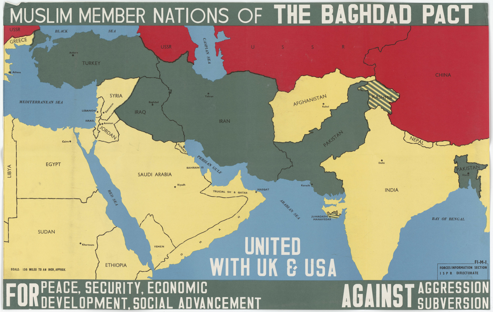 Baghdad Pact Posters and Maps | PICRYL
