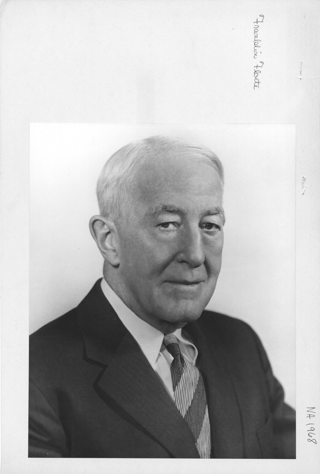 Photograph of GSA Administrator Franklin Floete