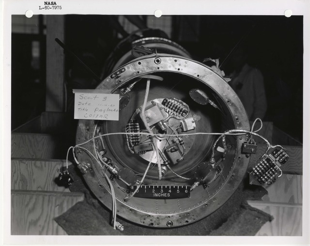 Photograph of a Rocket Payload Collar