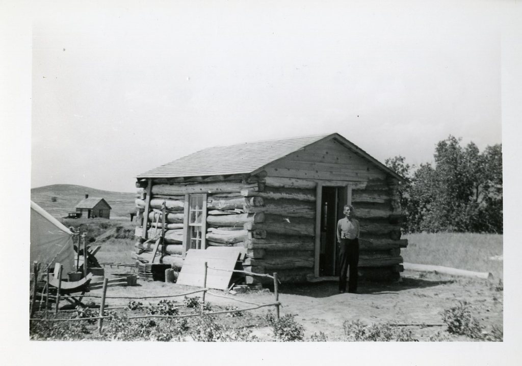 After Construction of House of Gilbert St. Pierre