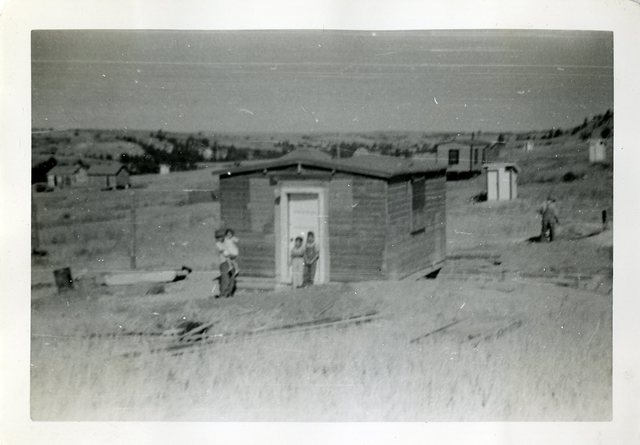 After Construction of House of Ted Lunderman