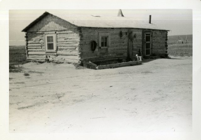 After Reconstruction of House of Robert Little Thunder