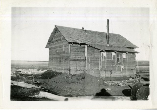 Albert Eknoth House (Small Unpainted Frame House)