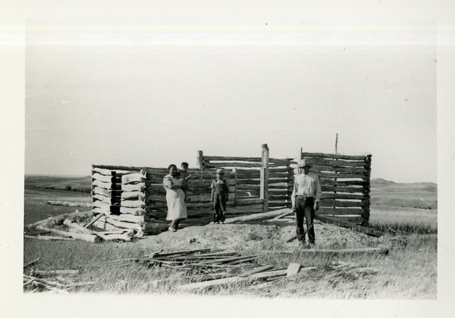 Before Completed Construction of Andrew Roan Eagle's Place