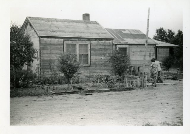 Before Construction is Completed on John Hudson's House