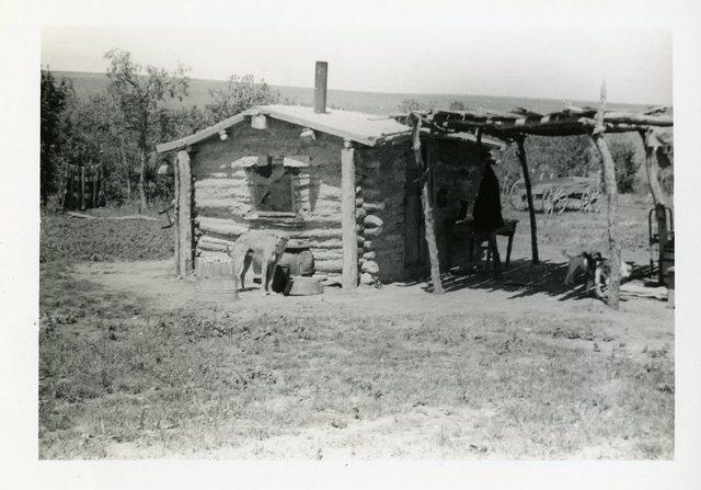 Before Reconstruction of House - Josephine Larvie