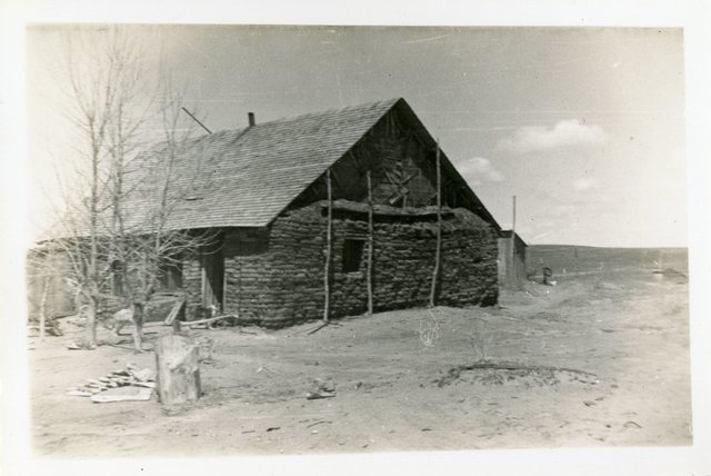 Before Reconstruction of House of Henry Arcorn