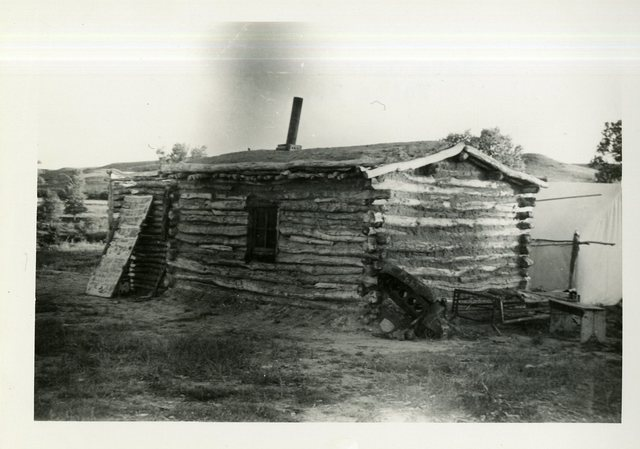 Before Reconstruction of House of Kate Charging Cloud