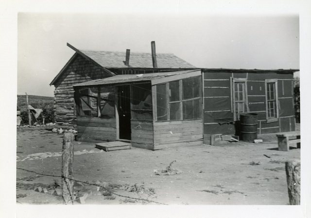 Before Reconstruction of House of Sam White Horse