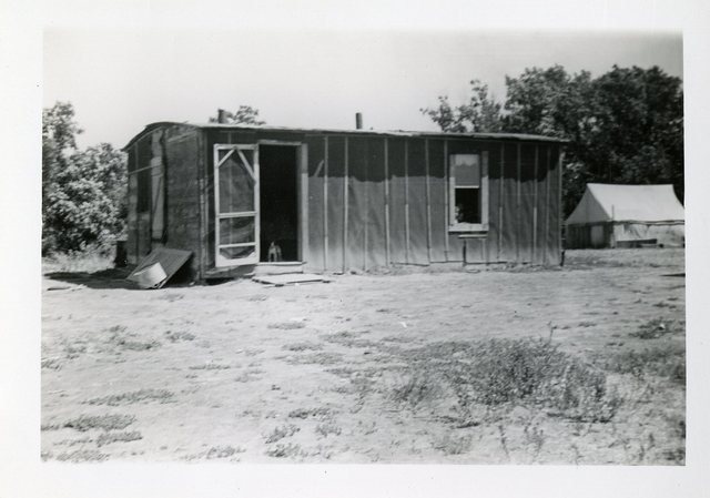 Before Reconstruction of John Prue's House